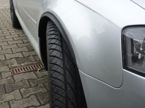 2x radlauf carbon opt retrasadas 120cm para opel sintra llantas Tuning solapas