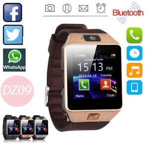 8223cc732a4a LATEST DZ09 Bluetooth Smart Watch Camera SIM Slot For HTC Samsung ...