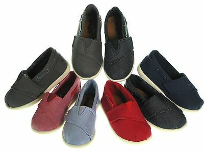 New Oxford  Baby Toddler Boys Girls Canvas Shoes Size  4 5 6 7 8 9