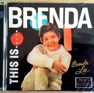 NEW SEALED - THIS IS... BRENDA LEE - Pop Country 60's Music CD Album