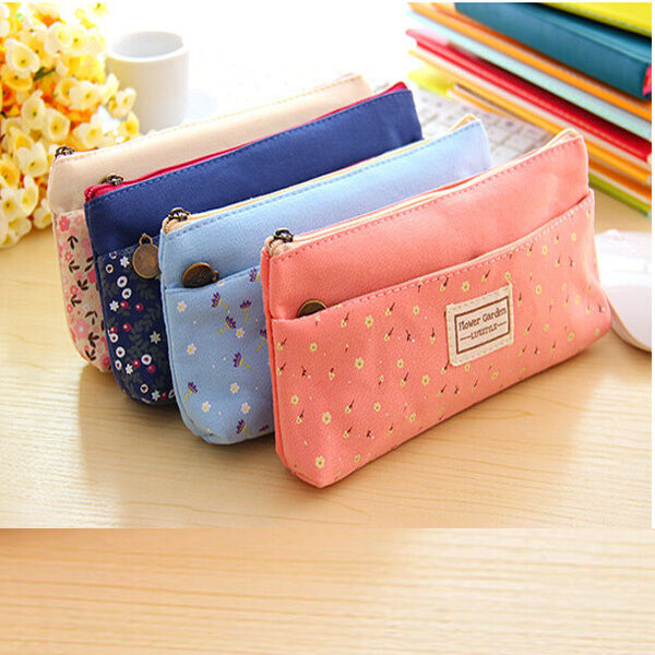 New Cute Children Pencil Bag Case Women Makeup Bag Coin Holder Case 2016