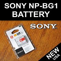 Sony Np-bg1 Np-fg1 Type Battery For Sony Cybershot W And H Series Cameras