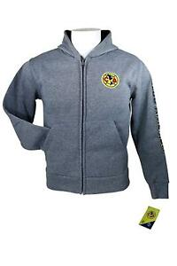 be5608657 Image is loading Club-America-Zipper-Jacket-Sweatshirt -Official-Soccer-Youth-