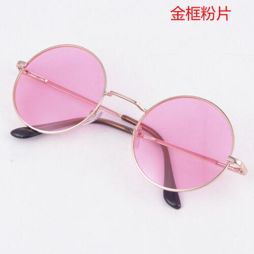 Hippie Vintage Polarized John Lennon Sunglasses Retro Round Mirrored Glasses