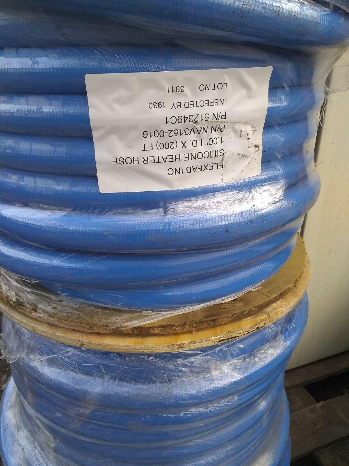 1-1//4 ID x 25 ft 5526 Blue Silicone Heater Hose 32mm 350F Radiator Coolant 1.25 FlexFab