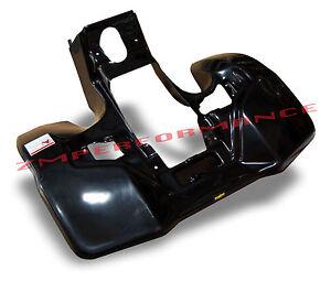 NEW SUZUKI LT 500 QUADRACER BLACK CARBON FIBER PLASTIC REAR FENDER LTR500 LT500R