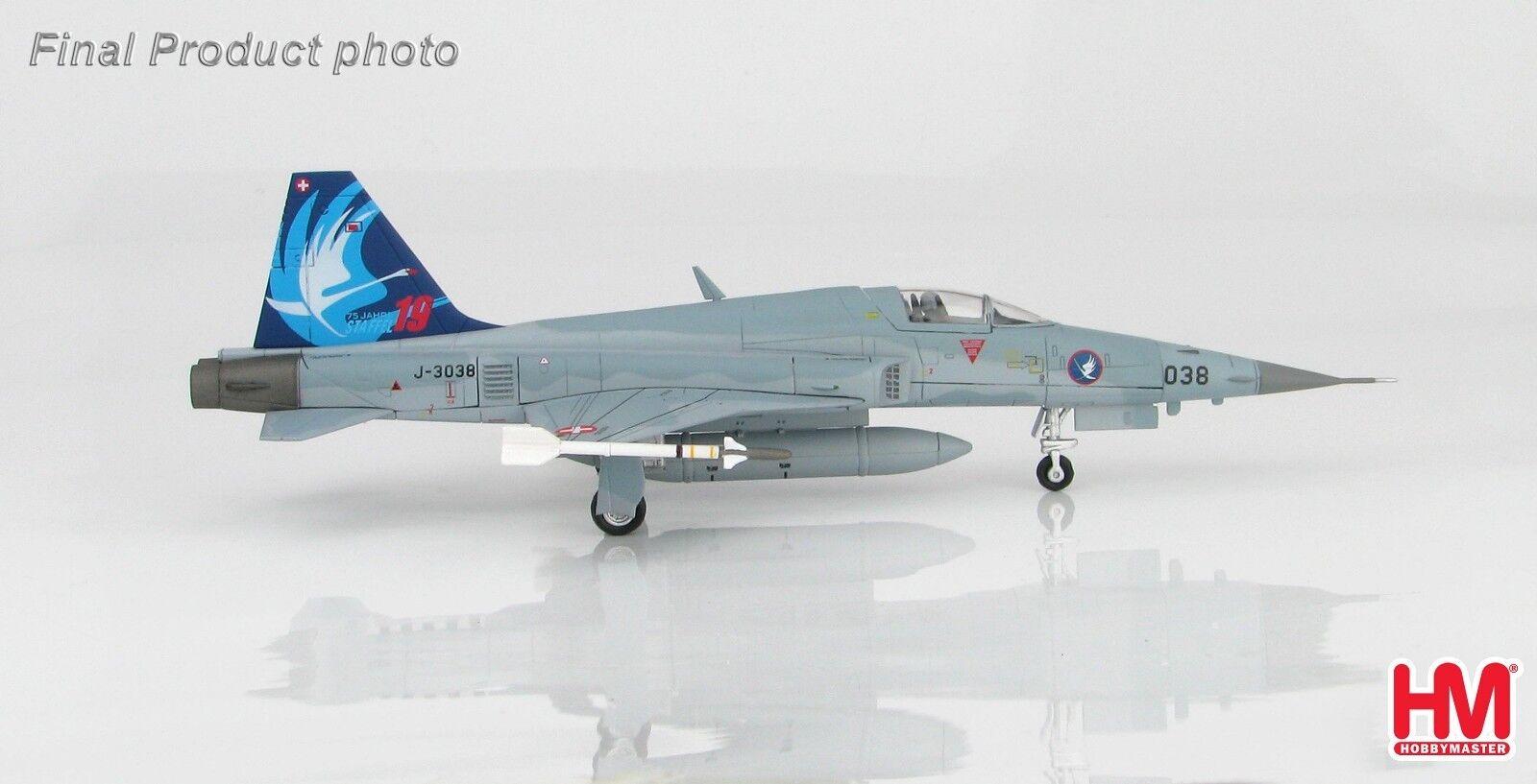 precioso Hobby Hobby Hobby Master HA3331, Northrop F-5E Tiger II J-3038, Staffel 19  75 Jahre , 2017  contador genuino