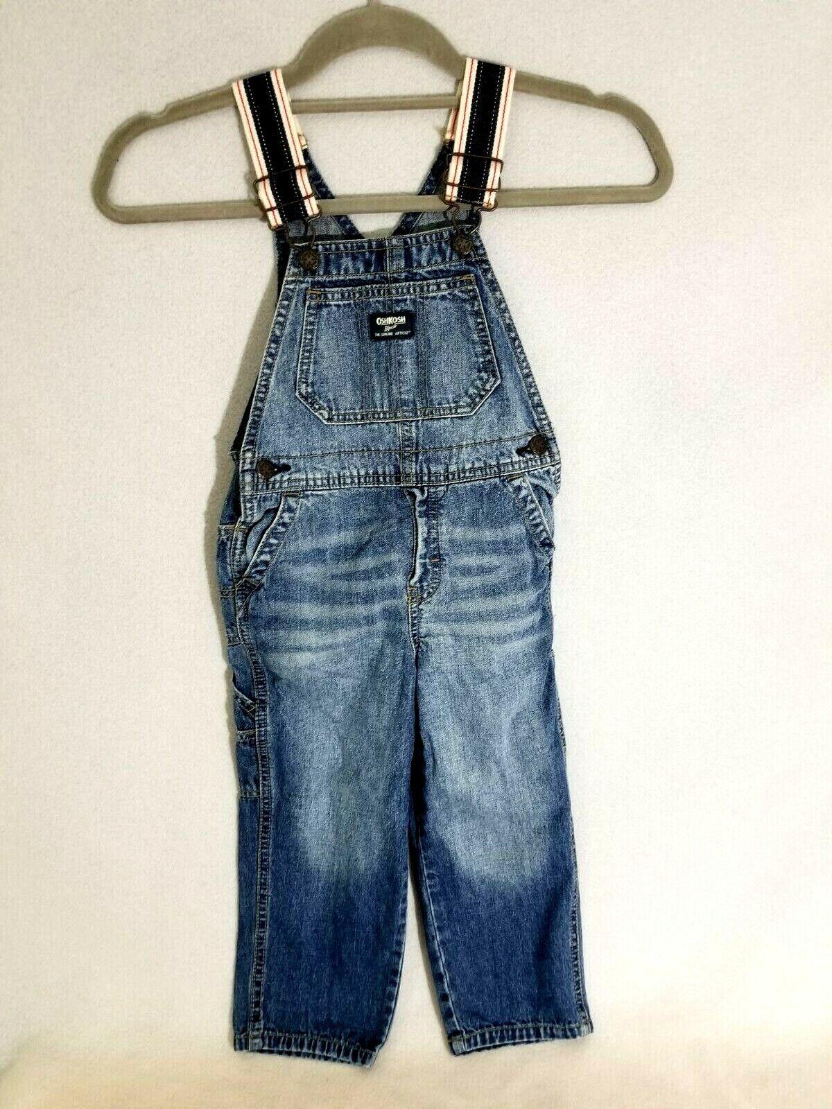 Vintage Oshkosh Overalls 4T