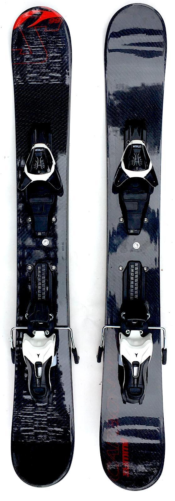 Summit Carbon Pro 99cm Skiboards Snowblades - Atomic L10 Ski Bindings 2019