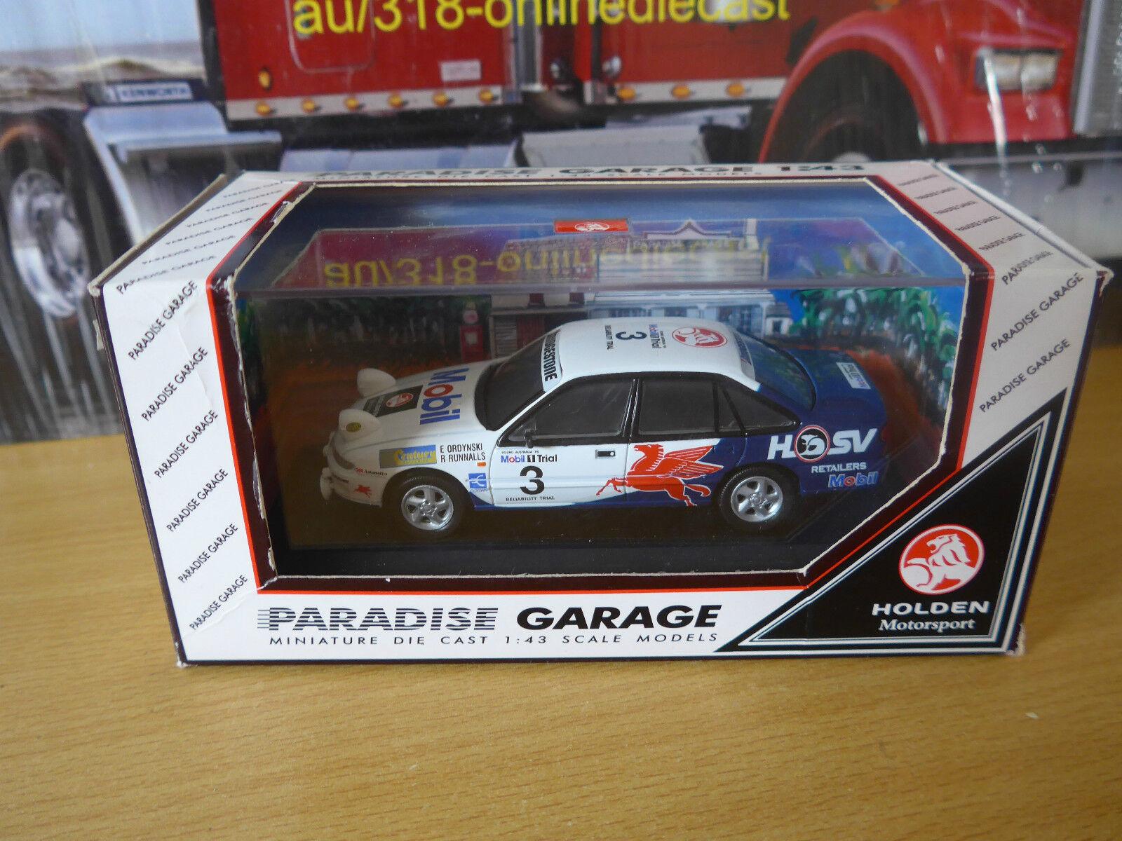 Paradise Garage  Mobil 1 Trial 1995  voiture 03 Ordynski laufennals