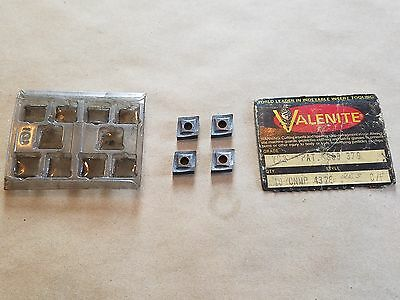 SV510 Valenite Indexable Inserts 20 Pieces SNMG322LF