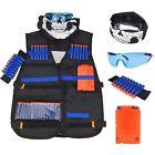Tactical Vest Kit w/ Masks for Nerf Guns N-Strike Elite Series Toy Kid NEW GIFT