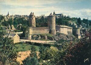 alte-AK-Fougeres-Ille-et-Vilaine-Frankreich-1980-gelaufen-Ansichtskarte-B166c