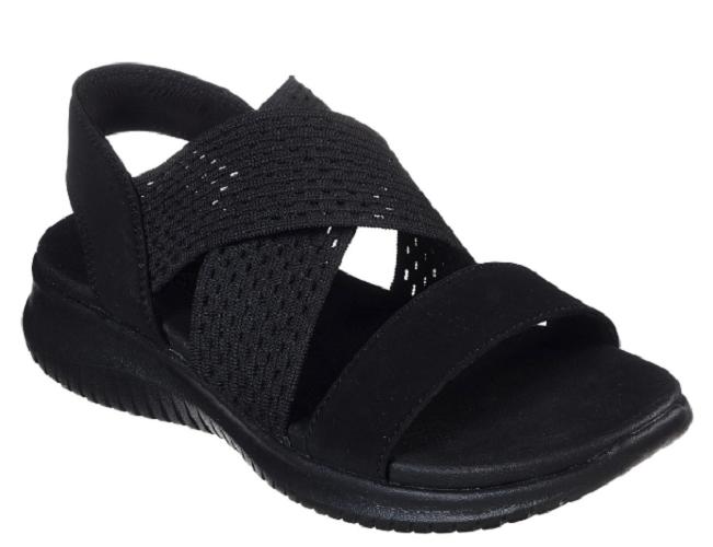 Mujeres Skechers Sandalias Ultra Flex Negro 32495 Estilo + + + Comodidad NWB  clásico atemporal