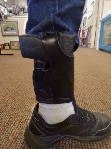 Gun Holster LH RH For Ruger SP101 3in Pro Carry Ankle Holster