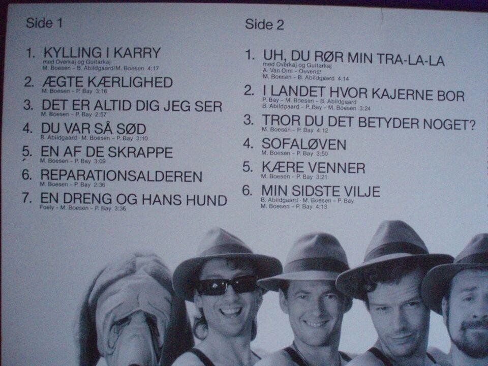 LP, 5 x Kaj/Michael Boesen m.fl., '5 x Kaj'