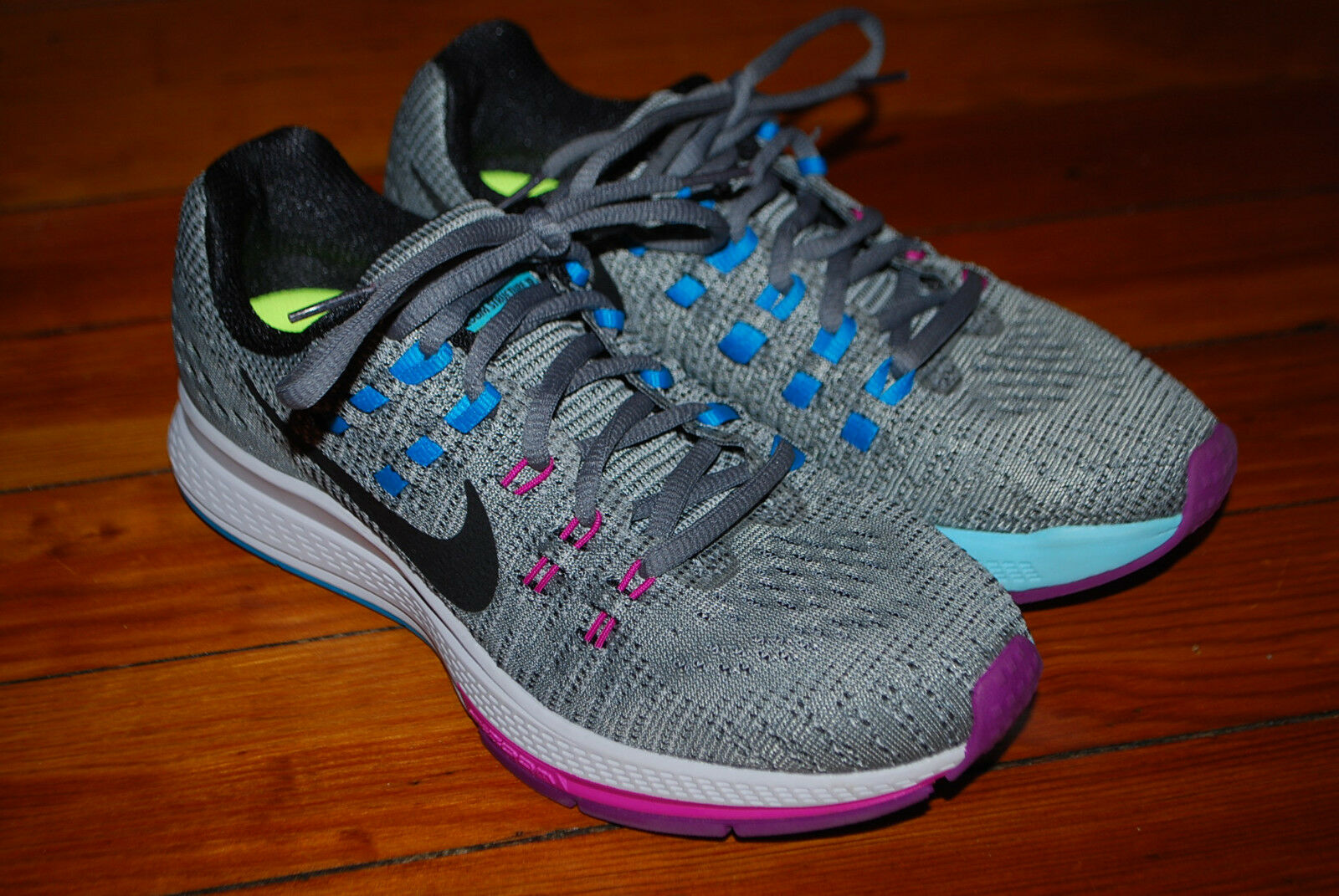 Women's Nike Air Zoom Structure 19 Running Sneakers (6) 806584-005