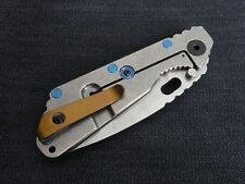 Bronze Titanium Deep Carry Pocket Clip for Strider PT Strider SNG Strider SMF