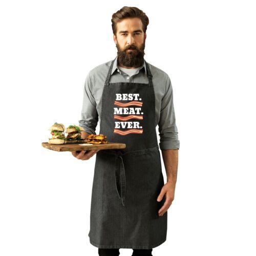 Meilleures viandes jamais Drôle Blague Bacon Végétarien Adulte Cuisine Cuisson premier tablier