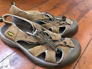 buy online 964fa c1f5e Details about Keen Venice Size 9 M (B) EU 39.5 Women's Leather Sports  Sandals Brown