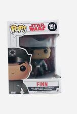 Funko POP Star Wars The Last Jedi Finn First Order #191 Bobblehead figure empire