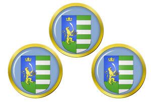 Bekes-Hongrie-Marqueurs-de-Balles-de-Golf
