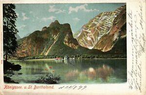 CPA-AK-Konigssee-St-Bartholoma-GERMANY-879246