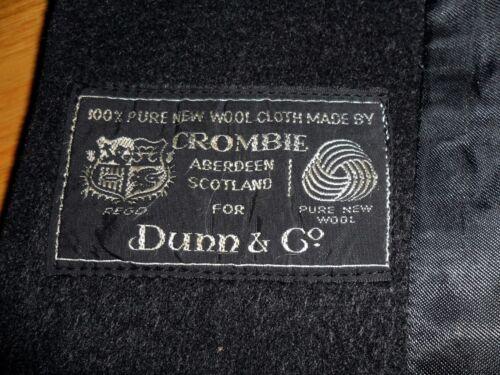 Made In antracite Crombie Heavy Very Co Overcoat Dunn 40 grigio UK Misura Cloth fRxq8nwz