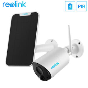 Reolink 1080P Wireless Security Camera Battery Powered Argus Eco + Solar Panel