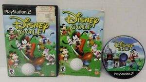 Disney Golf  - PS2 Playstation 2 Game Tested Working 1 - 2 Players can play