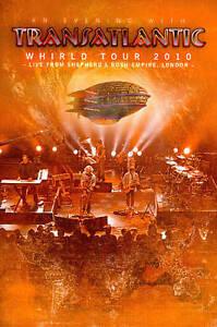Transatlantic-Whirld-Tour-2010-Live-in-London-2-Dvd-039-s-New-Sealed