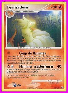 Platine Feunard 36//127 Carte Pokemon Neuve Française