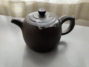 Chinese-Purple-Mud-Teapot-Vintage-Brown