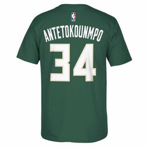 564825fed Details about Giannis Antetokounmpo Milwaukee Bucks Player Name   Number  Jersey T-Shirt Men s