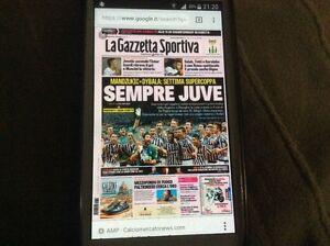 2 Gazzette dello sport juventus supercoppa italiana 2012-2015 - Italia - 2 Gazzette dello sport juventus supercoppa italiana 2012-2015 - Italia