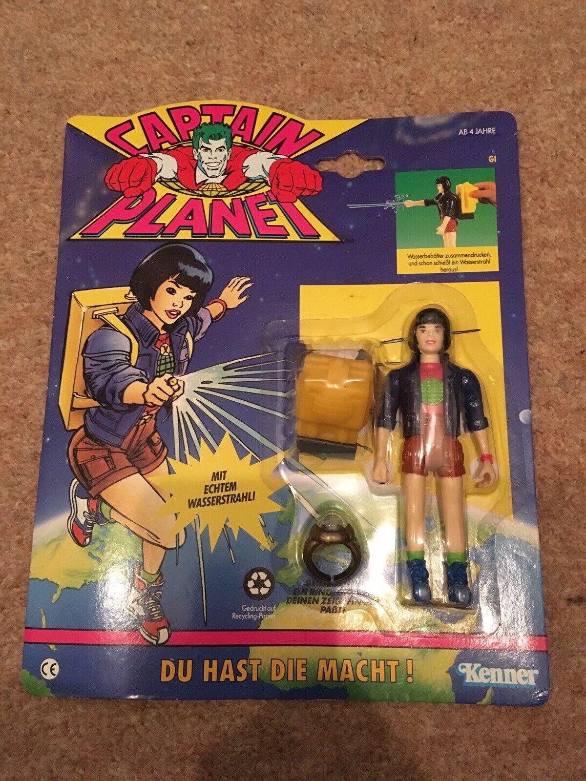 Capitán Planeta Gi planeteer Alemán figura de acción Kenner 1991