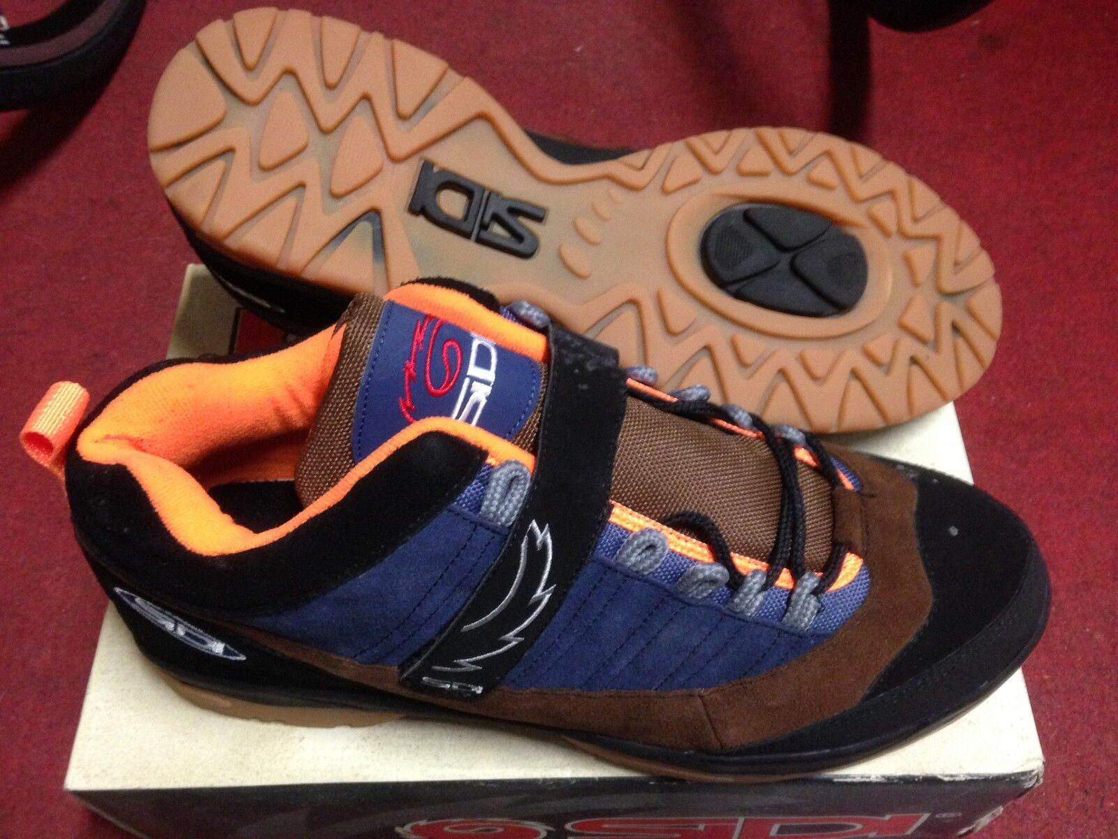shoes bici Sidi Vectra bike cycling shoes 41,48 made in  trial