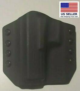 OWB High Quality Kydex Holster USA Stealth Black For GLOCK 19 Left Hand
