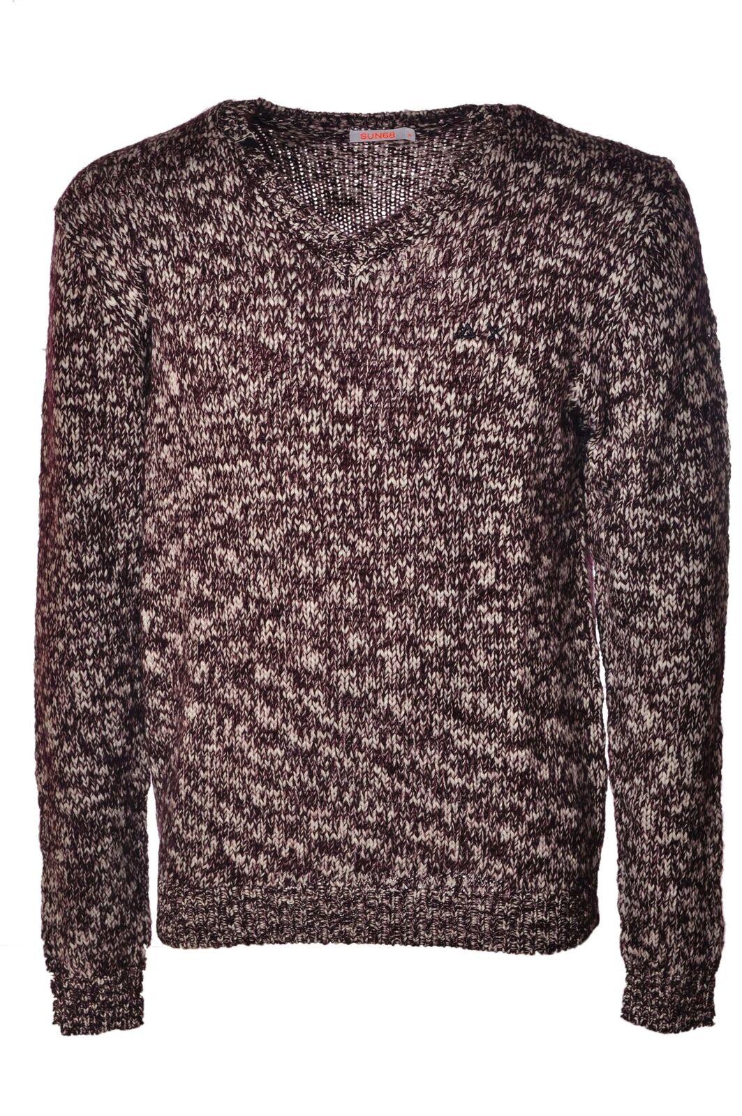 Sun 68 - Knitwear-Sweaters - Man - Braun - 4047018B183620