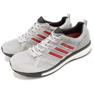 newest 81cf6 35495 Image is loading adidas-Adizero-Tempo-9-M-Boost-Grey-Red-