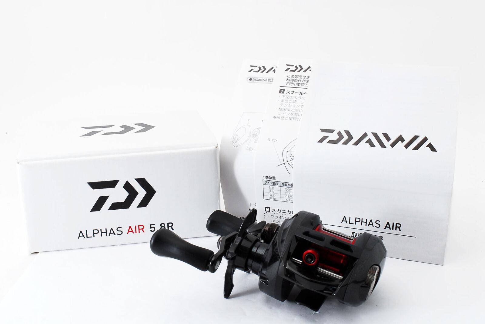 Nuevo [] Daiwa alfas Air 5.8R diestros Baitcasting Reel  932