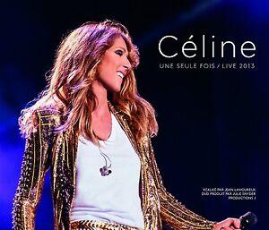 Celine-Dion-Celine-une-seule-fois-Live-2013-2cd-Blu-ray-Box-Set-Nuovo