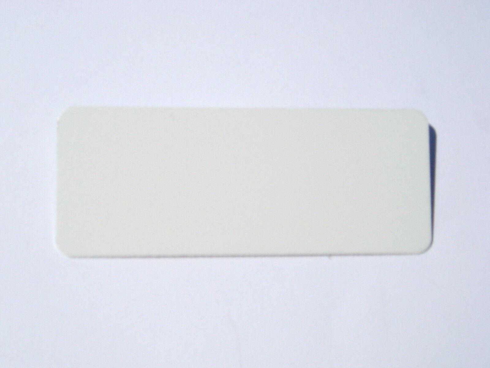 Mini Mini Mini sur mesure en aluminium signe plaque métallique étiquette de nom en blanc argent ou or 1380fc