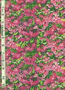 Wild Wings Simple Pleasures Pink Floral Allover by Springs Creative bty