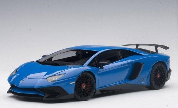 Lamborghini Aventador lp750-4 SV (Lemans azul) 2015