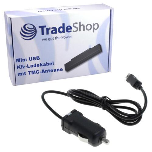 KFZ-Ladekabel mit TMC Antenne für Garmin Nüvi 24xx 37xx Zumo 220 Edge 205 305