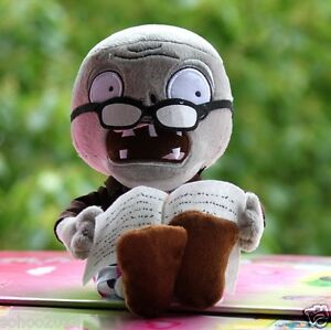 1pcs Newspaper Zombies Plants vs Zombies Soft Plush Toys baby doll Children Gift