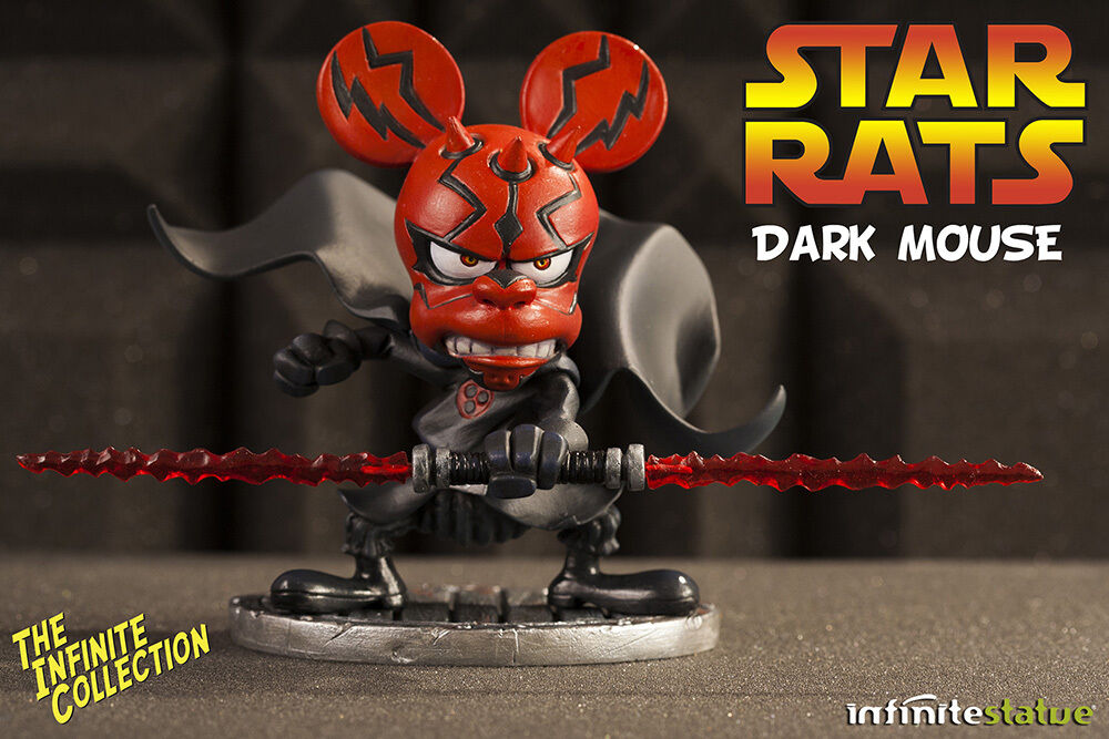 Rat-Man Statue Infinite Collection  4 Dark Mouse (Star Wars Parody) Resin Statue