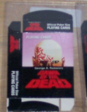 DAWN OF THE DEAD STANDARD 52 PLAYING CARD DECK HORROR ZOMBIES WALKING DEAD