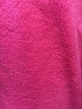 Hot Pink Solid Polar Fleece Anti-Pill Lining Apparel Fabric - BTY - 60""